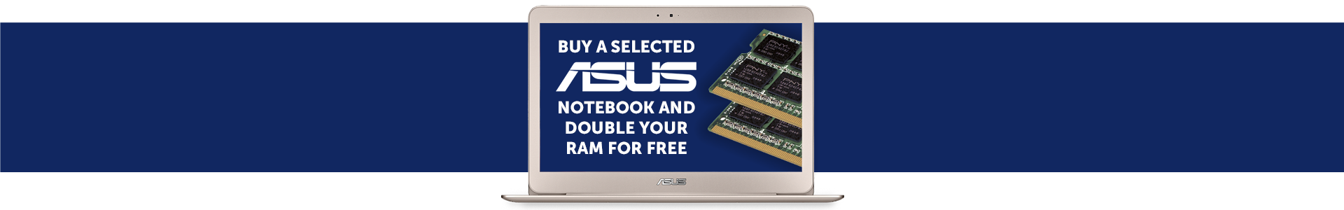 Asus double your ram promo banner